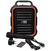 E-Lektron EL16-P tragbare Beschallungs-Anlage USB/Bluetooth PA Soundsystem mit Mikrofon portable Karaoke