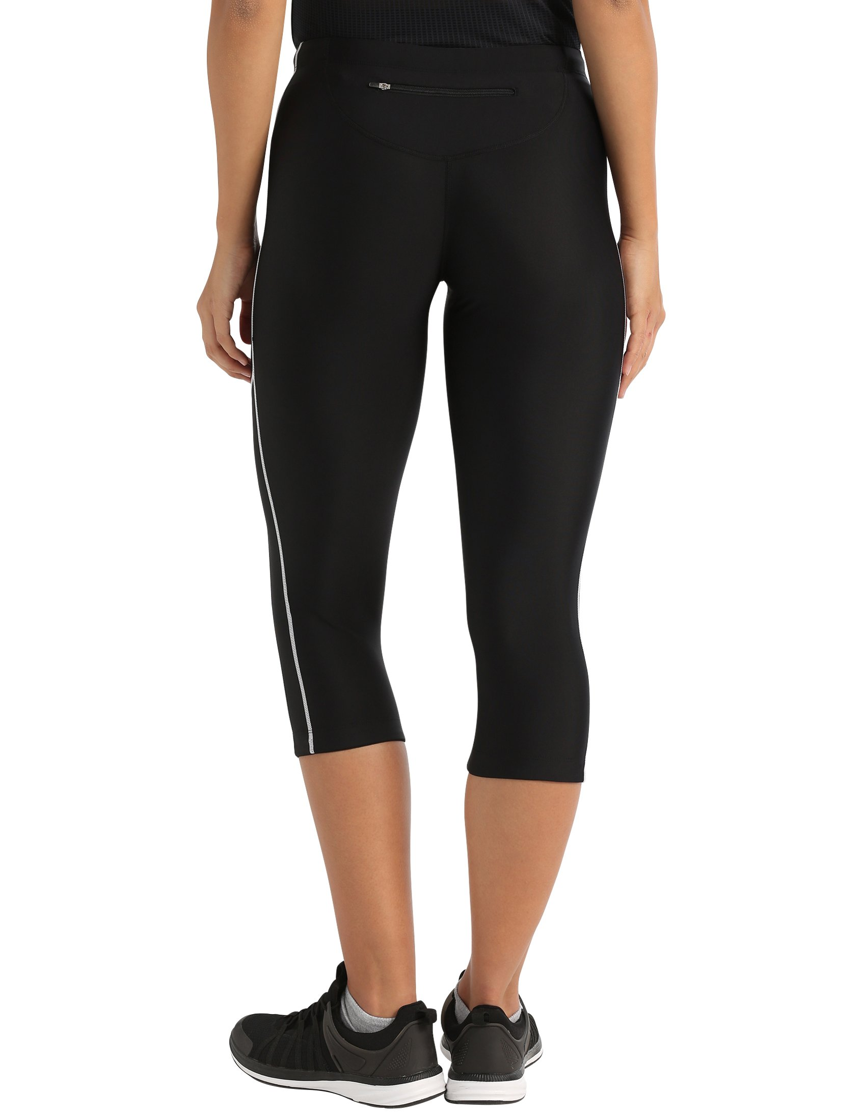 71ohZwdl TL - Ultrasport Women's Running Pants Capri with Compression Effect & Quick-Dry-Function