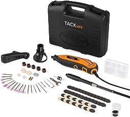 Tacklife RTD35ACL Advanced Multifunktionswerkzeug mit 80 Zubehör und 4 Aufsätzen zum beliebten Allrounder für Hand- und Heimwerker, Inkl Schutzhaube