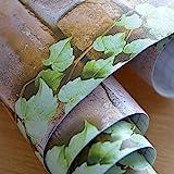 Amazon Brand - Solimo PVC Self-Adhesive WallPaper, Vine Plant, 45 x 500 cm