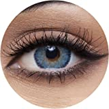 Anesthesia Anesthetic Blue Unisex Contact Lenses, Original Anesthesia Cosmetic Contact Lenses, 6 Months Disposable - Anesthet