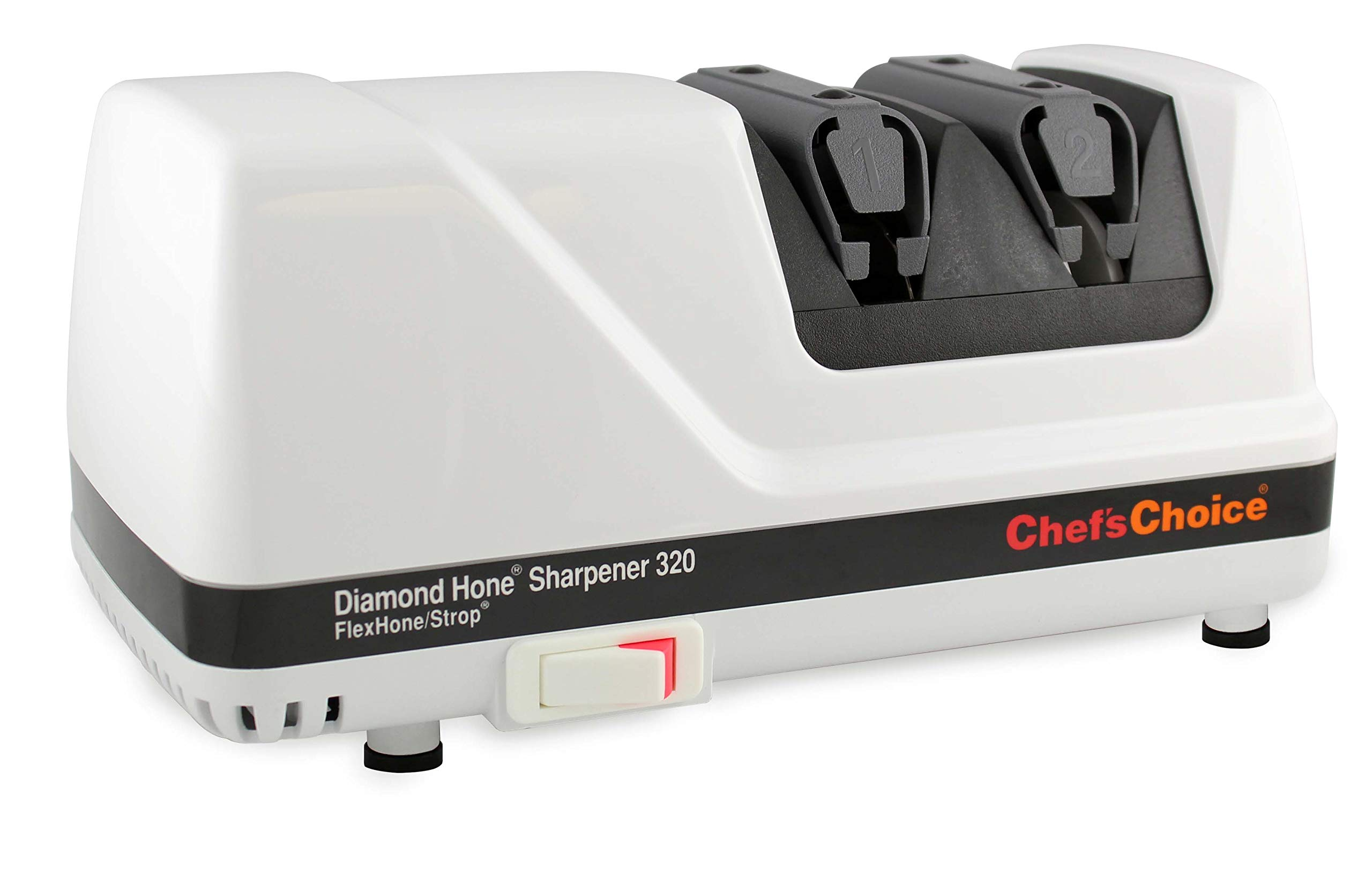 71oizlbKveL - Chef's Choice Diamond honed two-stage rotary sharpener, Model 320