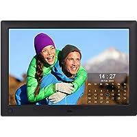 Cytem 10.1 Zoll Digitaler Bilderrahmen | 16:10 HD-IPS Display | Bewegungssensor | Transparente Kalender-Uhr | korrekte…