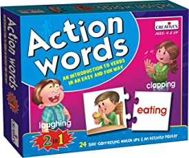 Creative Education Aids 0642 Action Words