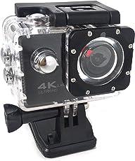 Sajja Enterprises 4k Action Camera (Black)