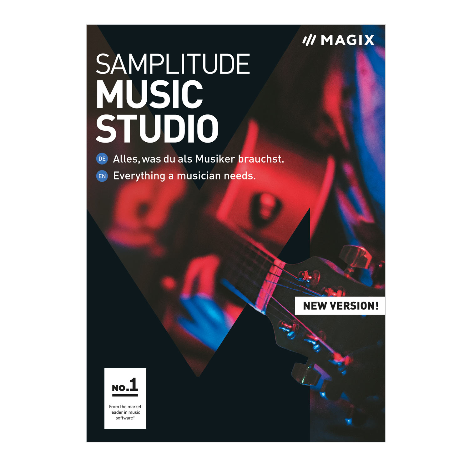 MAGIX Samplitude Music Studio - Version 2019 - das komplette Studio zum Komponieren, Aufnehmen, Mixen und Mastern. [Download] (Komponieren Musik Software)
