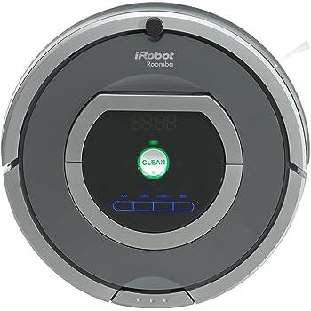 iRobot Roomba 782 Aspirateur Robot, système de nettoyage puissant avec Dirt Detect, aspire tapis, moquettes et sols durs, idéal pour les poils d'animaux, nettoyage sur programmation, nettoie plusieures pièces, gris