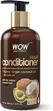 WOW Coconut & Avocado Oil No Parabens & Sulphate Hair Conditioner, 300mL