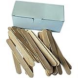 EpilWax Lot de 100 spatules pour Épilation Spatules Bois De Qualité Professionnelle