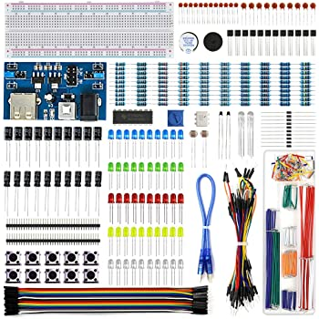 Electronics Starter Kit Power Supply Module, Jumper Wire