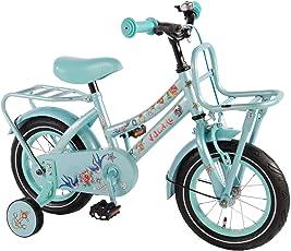 "Volare 12"" 12 Zoll Mädchenfahrrad Kinderfahrrad Kinder Mädchen Fahrrad Rad Bike Cruiser Rücktrittbremse Tattoo 61218"
