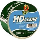 SHURE Duck Tape Packaging Hd klar 50 mm X 25 m