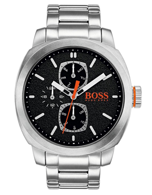 Hugo Boss Orange Reloj Multiesfera para Hombre de Cuarzo con Correa en Acero Inoxidable 1550029
