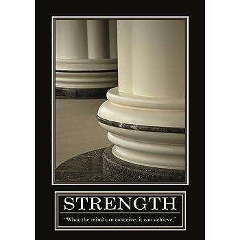 STRENGTH Poster - ORIGINAL- Barney Stinson Poster - 4/13