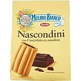 Mulino Bianco Biscotti Frollini Nascondini con Cioccolato, Colazione Ricca di Gusto, 600 gr