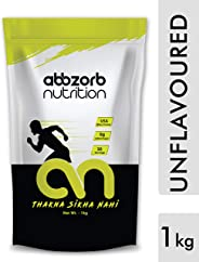 Abbzorb Nutrition Raw Whey Protein 80% (1 Kg Refill Pack)
