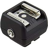 JJC Compatibel met Studio Flash op standaard ISO camera flitsschoen of multi-interface schoen flitsadapter.