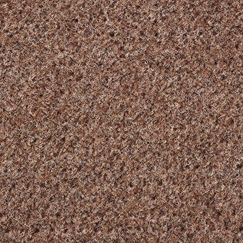 Kunstrasen Rasenteppich mit Noppen | Höhe ca. 7,5mm | 133, 200 und 400 cm Breite | beige hell-braun | Meterware, verschiedene Größen | Größe: 2 x 4 m