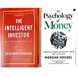 The Intelligent Investor and The Psychology of Money Set of 2 Books in English