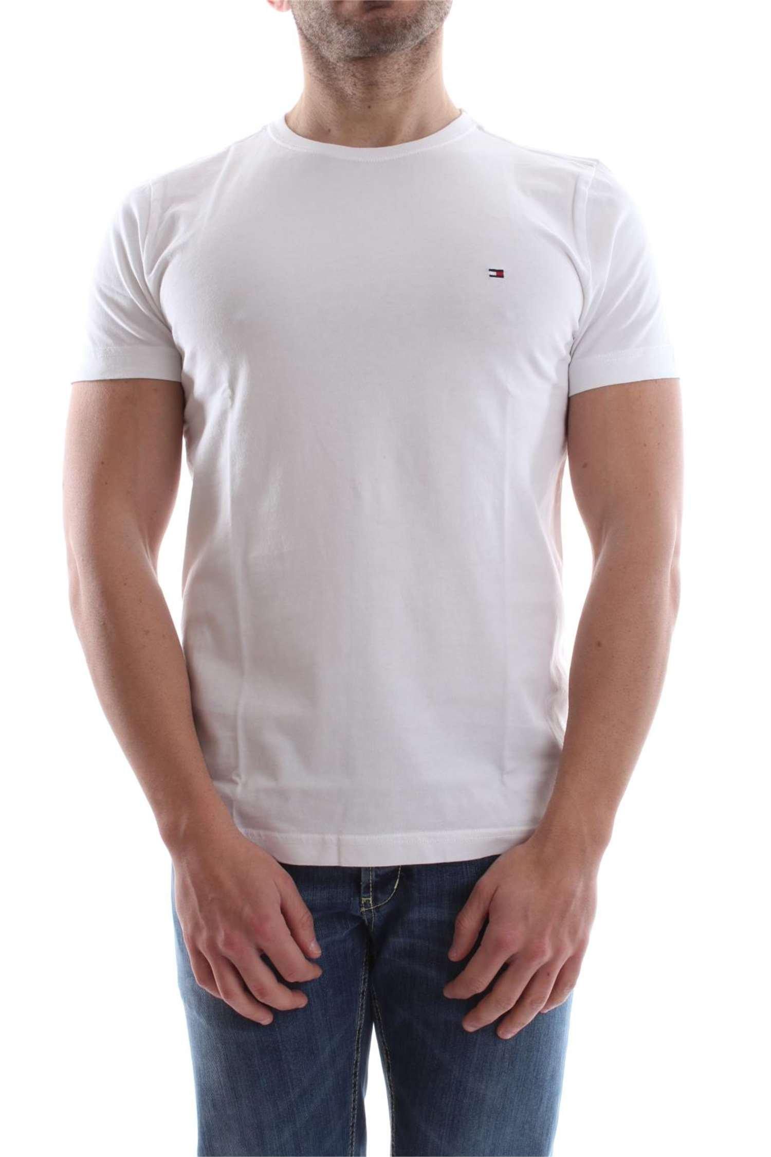 Tommy Hilfiger Flag C-nk tee S/S RF Camiseta para Hombre