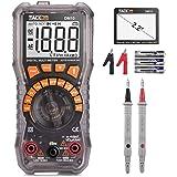 Tacklife DM10 Multimeter Digital Autorange Batterietester 1.5V / 6V / 9V / 12V für AC DC Spannung Strom Widerstand Diode…