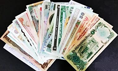 GOLD MINT 5 Different African Legal Foreign Currency Notes (GOLD MINT 62)