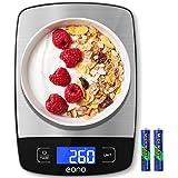 Amazon Brand - Eono Balances de cuisine, 10kg/22Lb Electronique Balance de Précision professionnelle, numériques en grammes