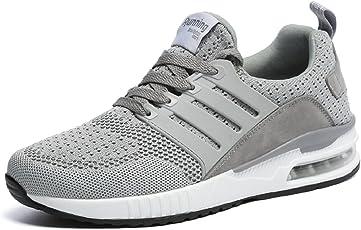 tqgold Herren Damen Sportschuhe Laufschuhe Bequem Atmungsaktives Turnschuhe Sneakers Gym Fitness Leichte Schuhe