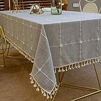Pahajim Nappe Exterieur Rectangulaire Anti Tache Nappe Lavable Tissu Nappe Table a Manger Nappe Cuisine Nappe Picnic…