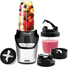 TECNORA Tritan 1000W Nutri Blender with Nutrient Extractor, Intellisense and Electric Speed Control(Black)