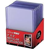 25Ultra Pro Toploader- Raccoglitore per carte da collezione, ultra trasparente, regolare, 63,5 x 88,9 mm