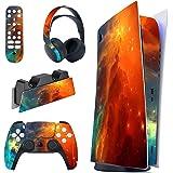 PlayVital Adesivo Skin per PS5 Console&Controller&Telecomando&Cuffie&Base di Ricarica Cover Sticker Decal Vinile per Playstat