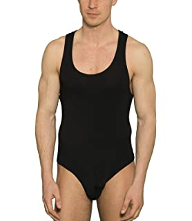 3c36761543 Doreanse Stringbody Herren Unterhemd Herrenbody Ringerrücken Mens Thong  Bodysuit