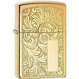 Zippo Venetian Mechero, High Polish Brass, 3.5x1x5.5 cm