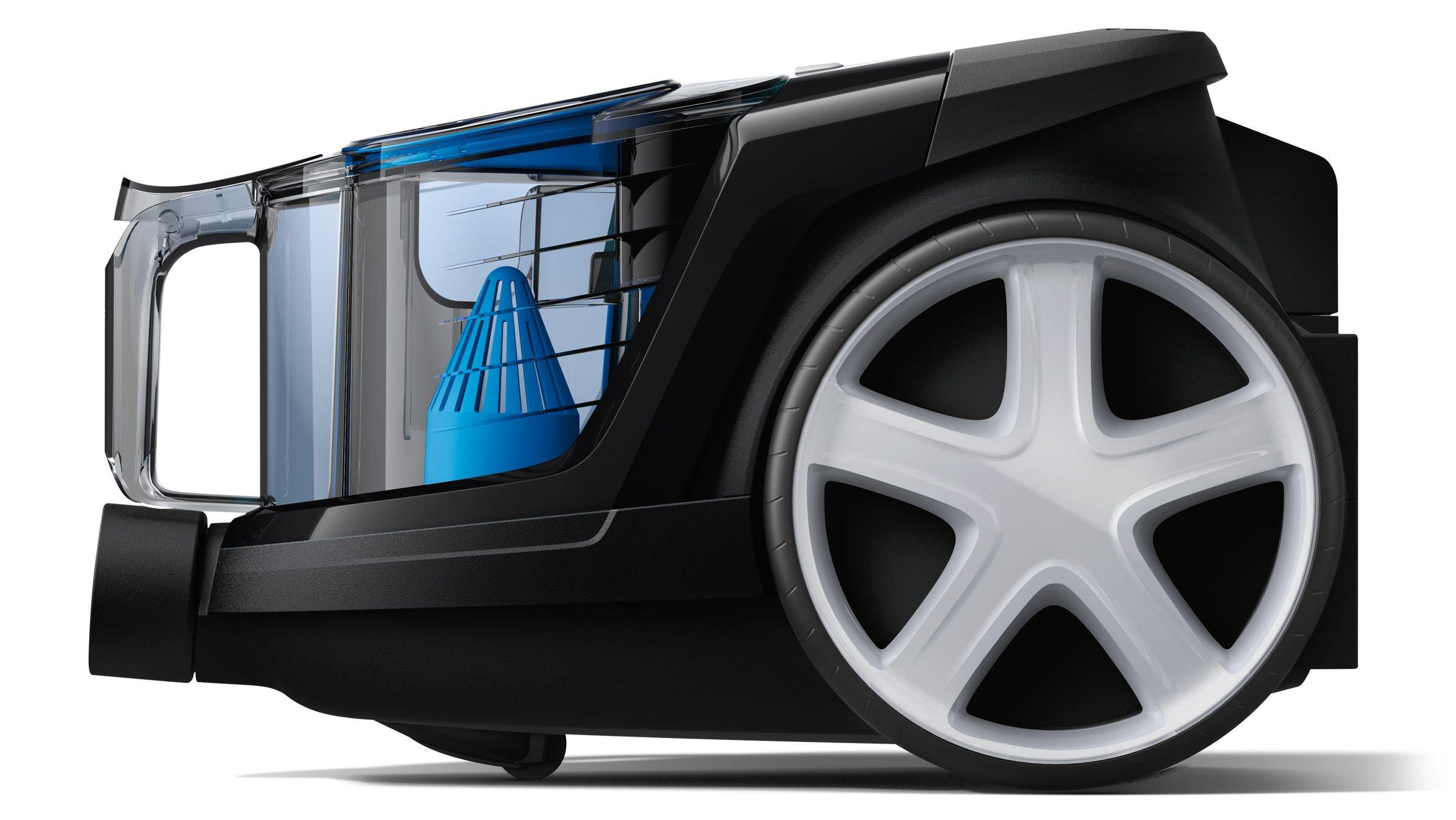 Philips beutelloser Staubsauger PowerPro Compact (sehr niedriger Stromverbrauch bei hoher Leistung, 1,5 L Staubvolumen…