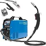 Ipotools MIG-160ER Inverter-lasapparaat, MIG/MAG-beschermgas, 160 ampère, ook geschikt voor flux/vuldraad en elektroden, E-ha