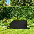 Dokon 3Sitz Garten Bank, Wasserdicht Atmungsaktiv Oxford Stoff Outdoor Sitzbank Cover (163x 66x 63/89cm) von Dokon - Gartenmöbel von Du und Dein Garten