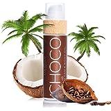 COCOSOLIS Choco – Super Abbronzante con Vitamina E, Olio Corpo Abbronzante – Crema solare Bio Oil per un'Abbronzatura Cioccol