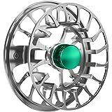 Magreel Moulinet de Pêche, Moulinet de Rechange, Moulinet de Pêche à la Mouche avec Corps en Alliage d'Aluminium Usiné CNC 3/4, 5/6, 7/9 Poids - Bronze/Bleu