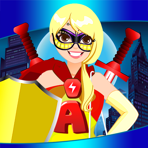 Superhelden dress up-Spiele