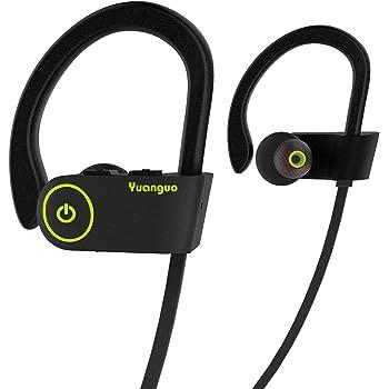 Auricolari Bluetooth HolyHigh cuffie sportive resistenti all acqua  Waterproof standard senza fili con Microfono a durata batterie cuffie  anti-rumore con ... 2d47511c9dbb