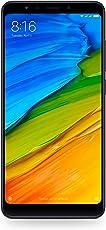 """Xiaomi Redmi 5 Smartphone da 5,7"""", 3GB RAM, 32 GB memoria, Camera 12MP, Android, Nero [Italia]"""