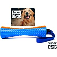 Super Dog Natural Rubber Dog Bone Chew Toy Large