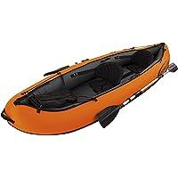 Bestway 65052 Kayak VENTURA 330 x 94 x 48 cm avec 2 pagaies et pompe à main