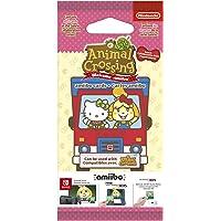 amiibo-Karten Pack (6 Stück) Animal Crossing: New Leaf + Sanrio