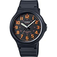 Casio Men's Watch in Resin/Acrylic Glass with Neo Display & Buckle - Water Resistant to 50 m