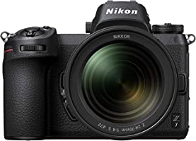 Nikon Z7 FX-Format Mirrorless Camera with Nikkor Z 24-70mm f/4 S Lens (Black)