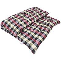 Ponperi Soft Cotton Filled Multicolour Mattress | Gadda (1 Sleeping Capacity - 3 x 6 ft or 72 x 36 Inch)