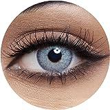 Anesthesia Dream Grey Unisex Contact Lenses, Anesthesia Cosmetic Contact Lenses, 6 Months Disposable - Dream Grey Color