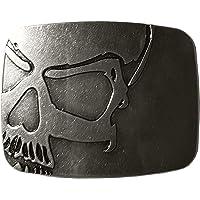 Vintage Skull Belt Buckle Cowboy Buckles